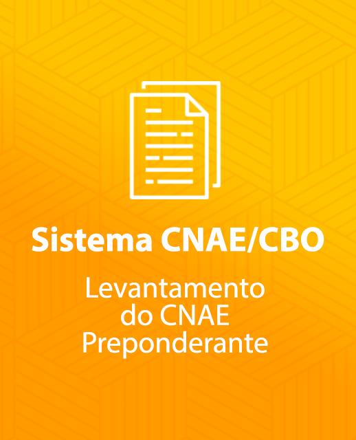 Sistema CNAE/CBO